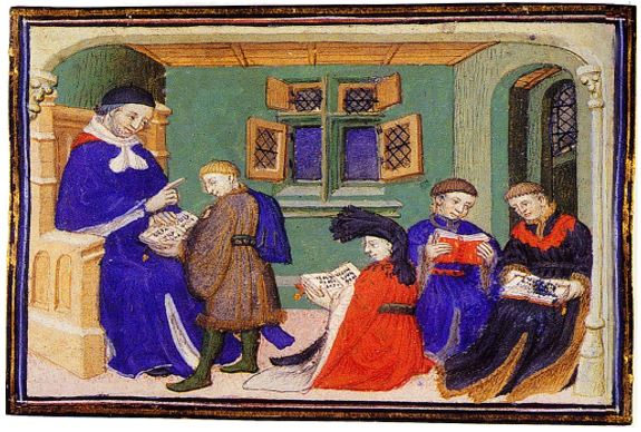 THE ORIGINS OF EDUCATION – Out of the Cloistered Shadows